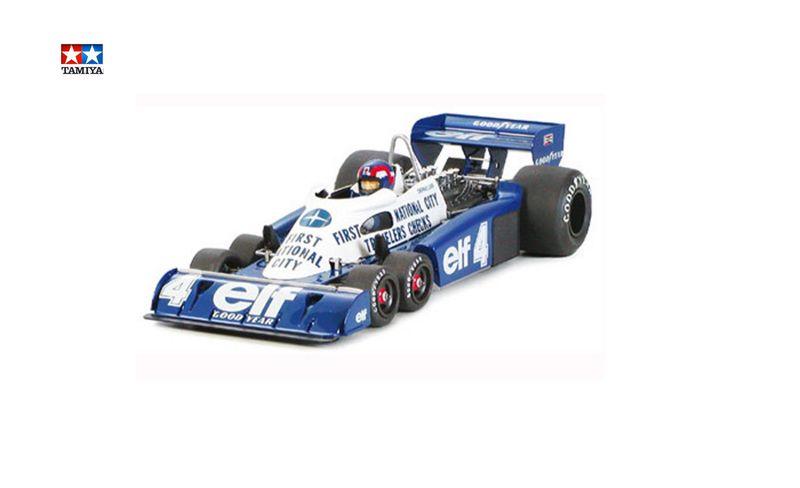 Tamiya 1:20 Tyrrell P34 Six Wheeler Monaco GP´77 20053 Plastik Bausatz – Bild 1