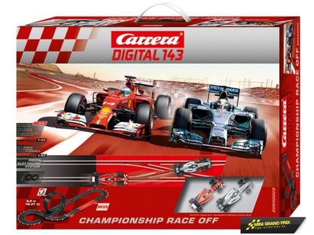 Carrera Digital 143 Championship Race Off 40028 – Bild 1