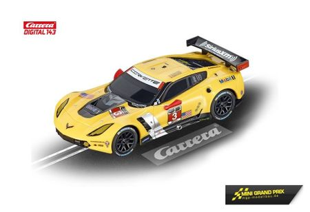 "Carrera Digital 143 Chevrolet Corvette C7.R ""No.3"" 41382"