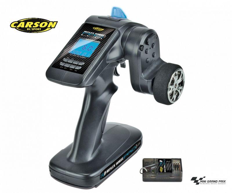 Carson Reflex Wheel Pro III LCD 2.4 GHz 11,1V 500500054