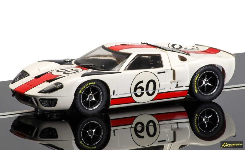 Scalextric 1:32 Ford GT40 - LeMans 1966 #60 C3727