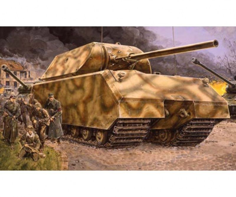 "Dragon 1:35 German Super Tank ""Maus"" 6007 Plastik- Bausatz"
