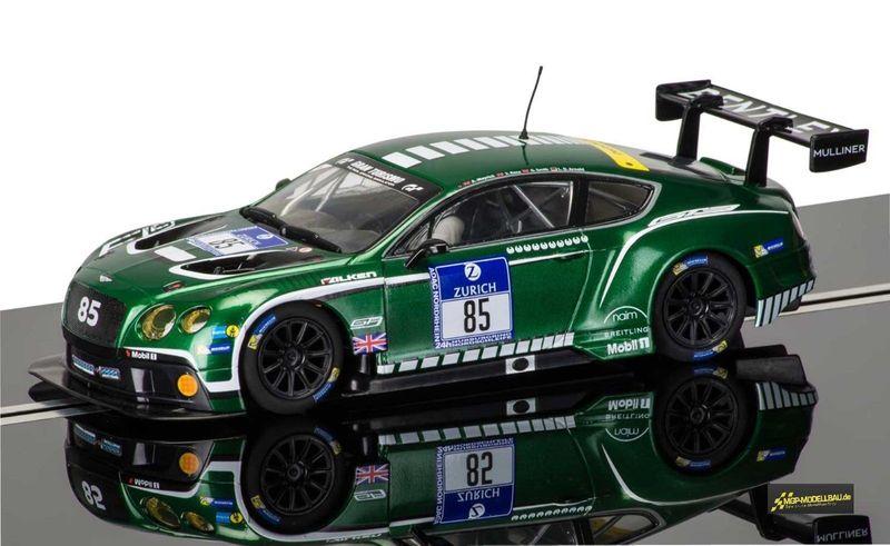 Scalextric 1:32 Bentley Continental GT3 #85 Nürburgring 2015 C3713
