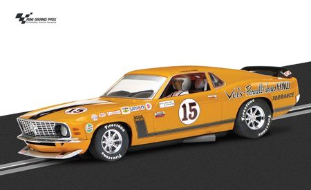 Scalextric 1:32 Ford Mustang Boss 302 1969 #15 HD C3651 Slotcar