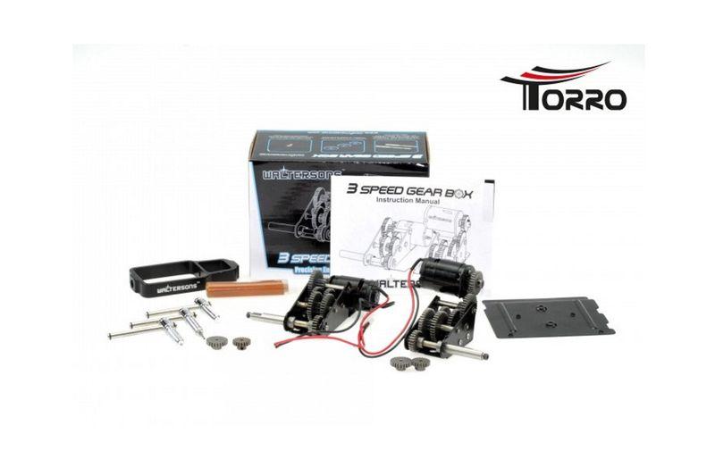 Waltersons 3 Speed Motor-Metallgetriebe WT-622009 für TORRO Königstiger