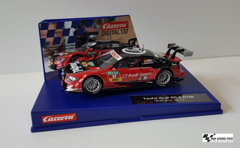 "Carrera Digital 132 Audi A5 DTM ""M.Molina, No.17"" 30741 – Bild 1"