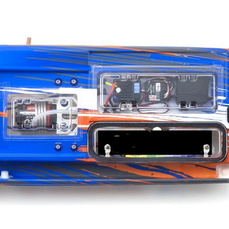Kyosho JET STREAM 600 Rennboot RTR Set 40132B,mit KT231P Fernsteuerung, Akku + Lader  – Bild 3