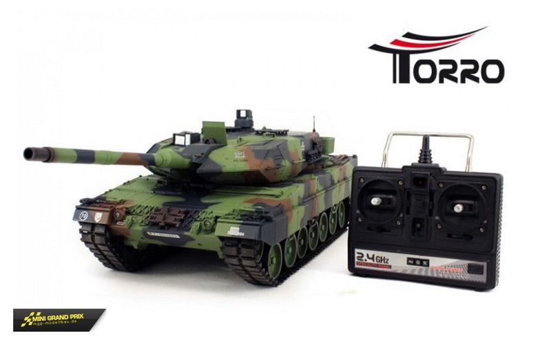 Torro Leopard 2A6 Panzer 2.4 GHz 1:16 Torro-Edition 1112438891