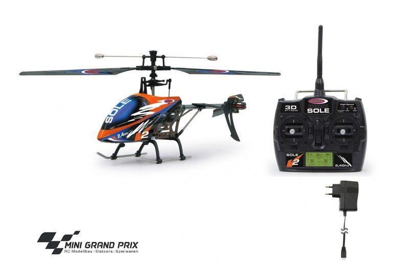 Jamara Sole V2 Pro 4 Kanal 2,4G Helikopter 037720 – Bild 2
