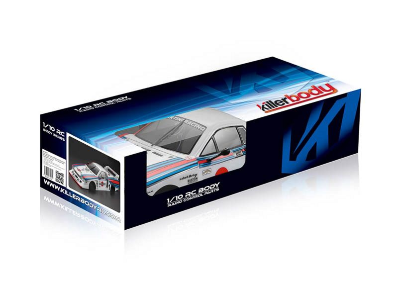 Killerbody Karosserie 1:10 Lancia Beta Monte Carlo, Rally-racing, RTU all-in KB48391 – Bild 2