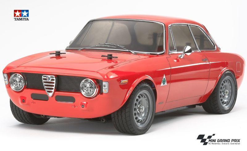 TAMIYA 1:10 RC Alfa Romeo Giulia Sprint GTA (M-06) Bausatz 58486