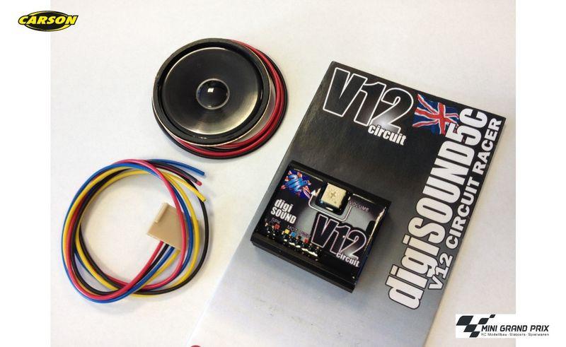 Mtroniks Digi-Sound 5c V12 Circuit Race 500906141
