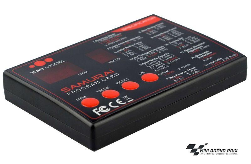 Yuki Model SAMURAI 1:10 LED-Programmier Box 4107011FL