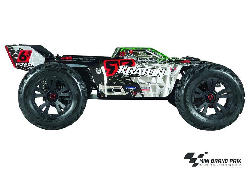 ARRMA KRATON 6Sv2 4WD BLX Race MT 1/8 RTR grün AR106015 – Bild 2