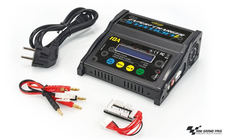 Carson Ladegerät Expert Charger Station 10A, 230V 500606066