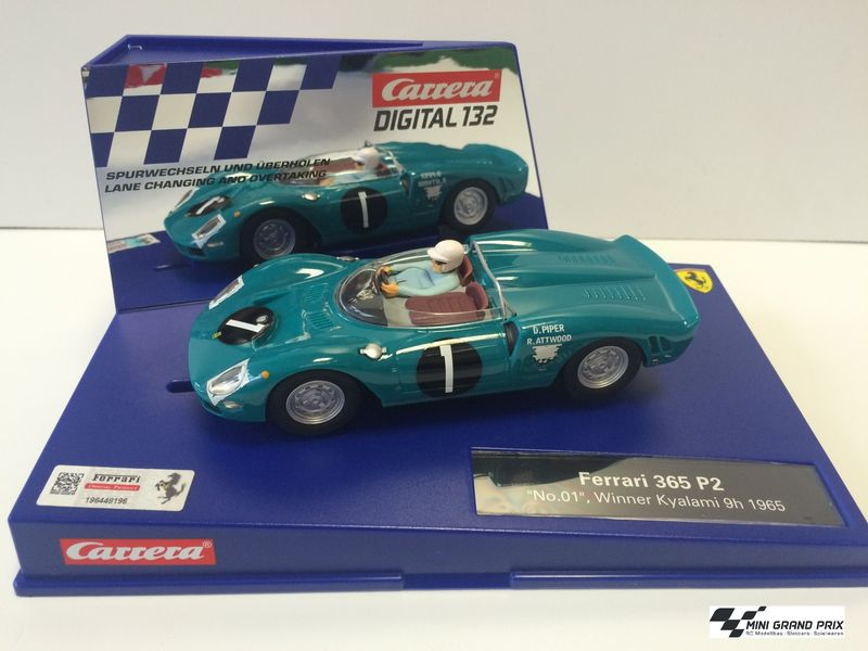 "Carrera Digital 132 Ferrari 365 P2 ""No.01"", Winner Kyalami 9h 1965 30775 – Bild 1"