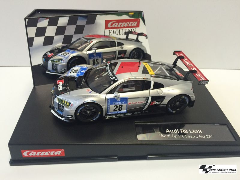 "Carrera Evolution Audi R8 LMS ""Audi Sport Team, No.28""  27532 – Bild 1"