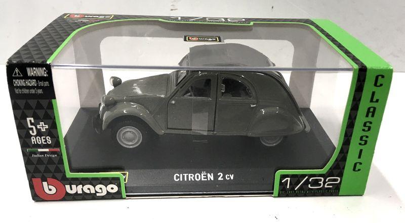 Bburago 1:32 Classics Citroen 2CV 1952 43203 – Bild 1