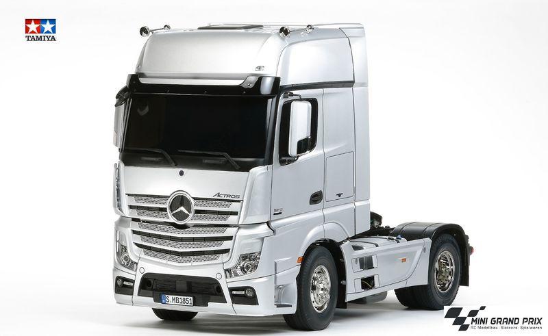 Tamiya 1:14 RC Mercedes Benz Actros 1851 GigaSpace Bausatz 56335