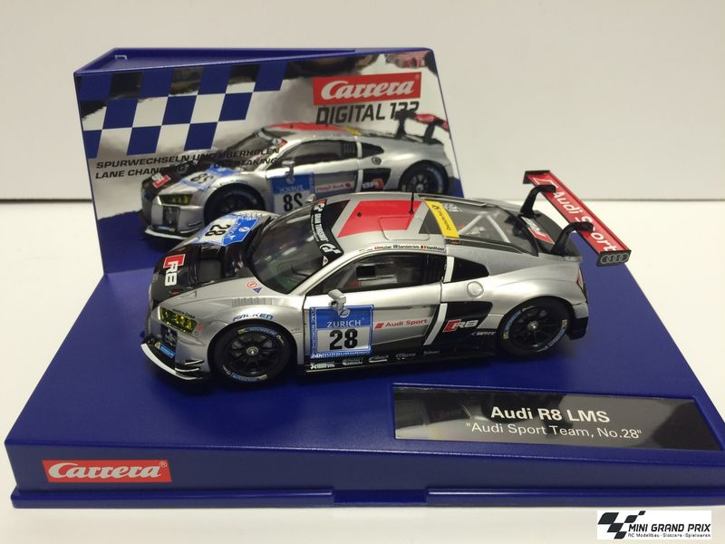 "Carrera Digital 132 Audi R8 LMS ""Audi Sport Team, No.28"" 30769 – Bild 1"