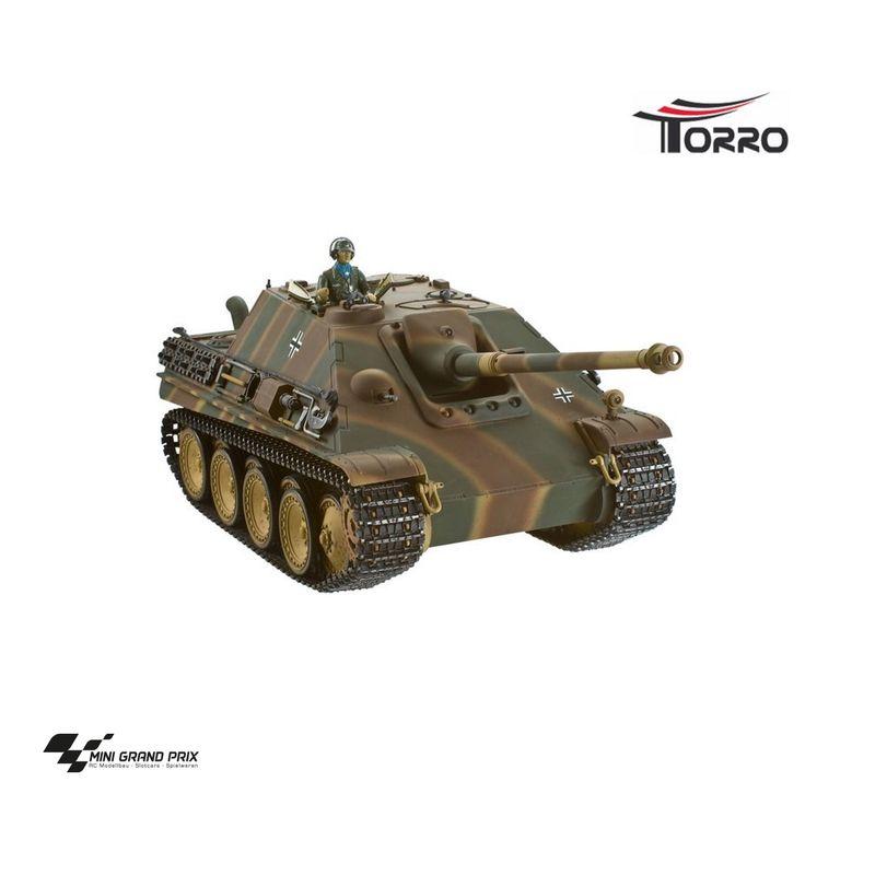 Torro 1:16 RC Jagdpanther Profi Metallausführung BB Version Tarn mit Holzkiste 1213869800 – Bild 1