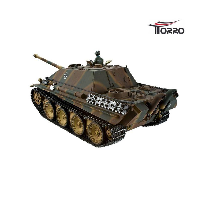 Torro 1:16 RC Jagdpanther Profi Metallausführung BB Version Tarn mit Holzkiste 1213869800 – Bild 3