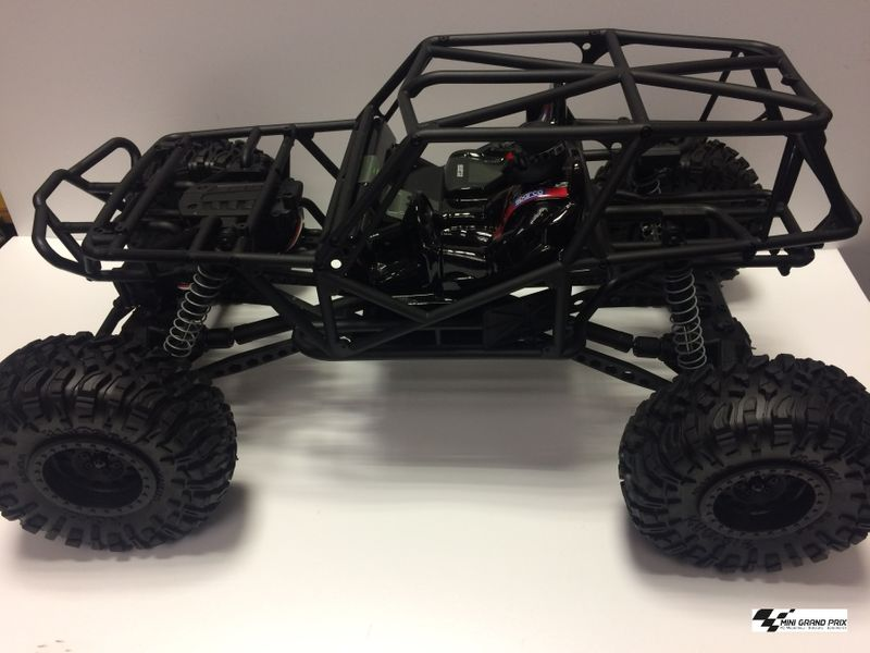AXIAL Wraith Fahrgestell Radstand mit Servo, Motor, Reifen