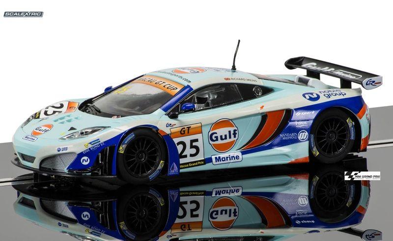 Scalextric 1:32 McLaren 12C GT3 Gulf #25 2014 C3716