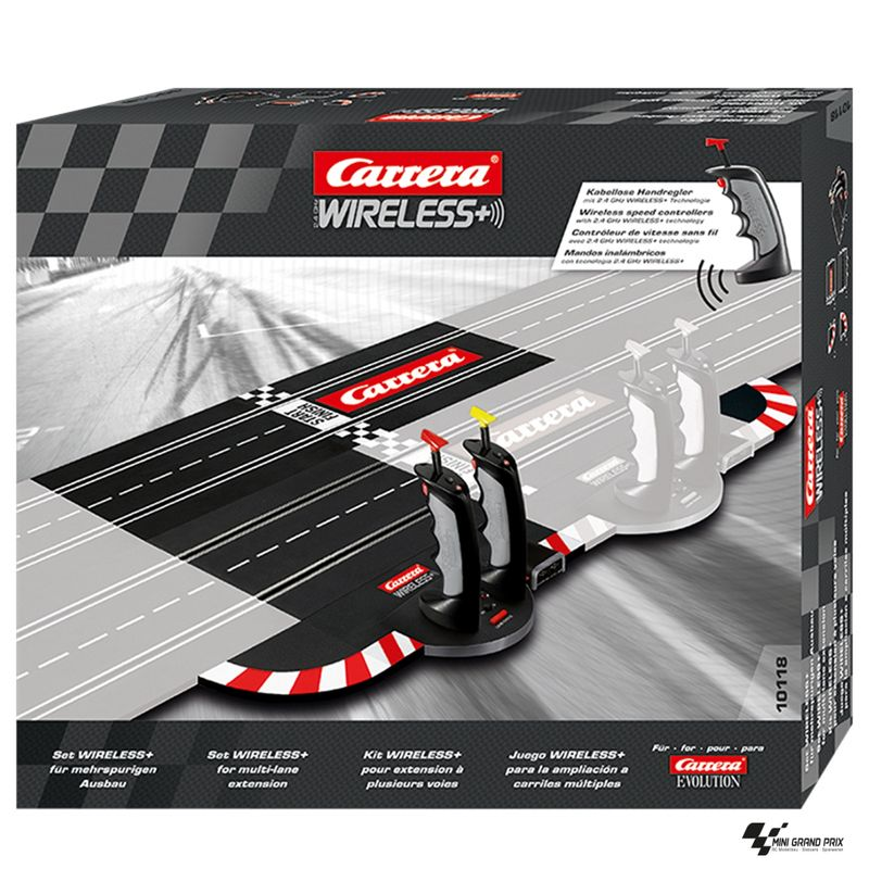 Carrera Evolution 2.4 GHz WIRELESS+ Set für mehrspurigen Ausbau 10118