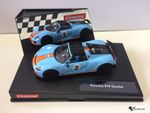 "Carrera Evolution Porsche 918 Spyder ""Gulf Racing No.02"" 27549"