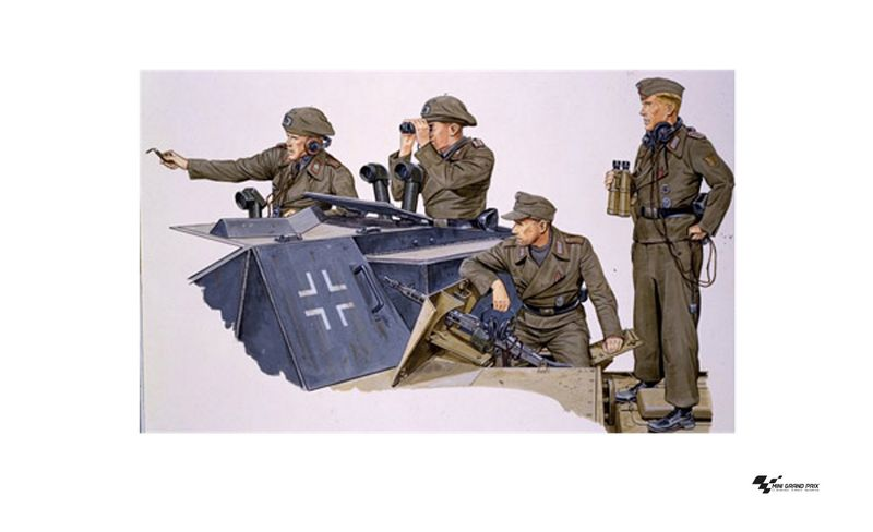 Dragon 1:35 German Sturmartillerie Crew 1940-45 6029 Bausatz
