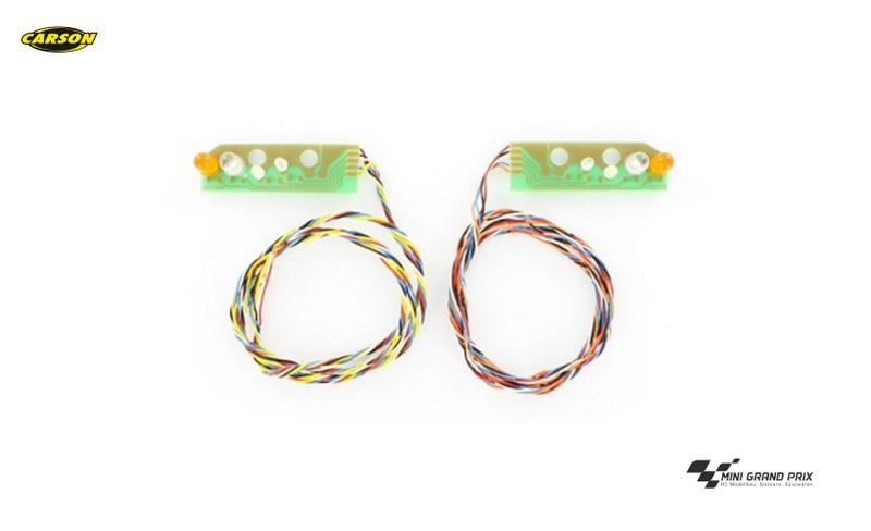 Carson 1:14 7,2V Mercedes-Benz LED-Rücklichtplatine 2 Stück 500907556
