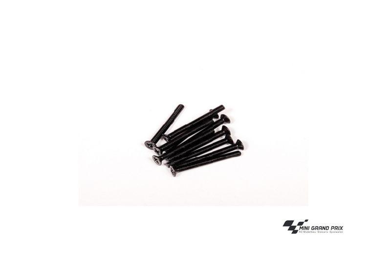 Axial Tapping Binder Head Schrauben M3x25mm Black (10) AXA870