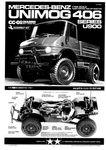 Tamyia Bauanleitung für 58457 Mercedes-Benz Unimog 406 Series U900