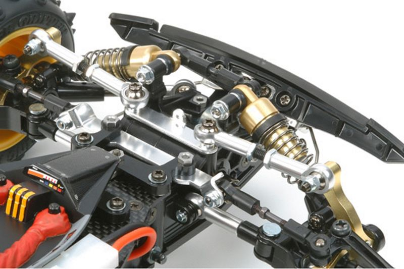 Tamiya 1:10 RC Avante 2011 LWA 4WD Racing Buggy 58489 Bausatz – Bild 2