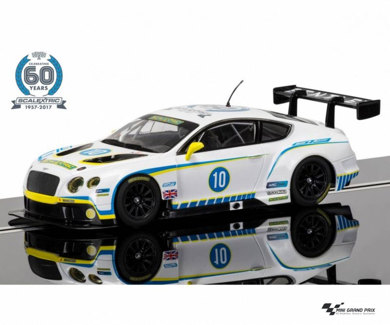 Scalextric 1:32 60 J. Collec. Car No.1 - 2010s Bentley C3831A – Bild 1