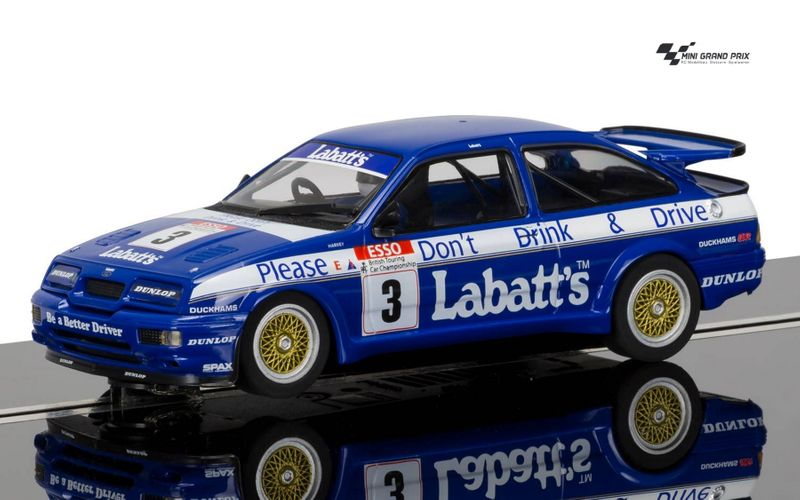 Scalextric 1:32 Ford Sierra RS500 #3 Labatt's HD C3867