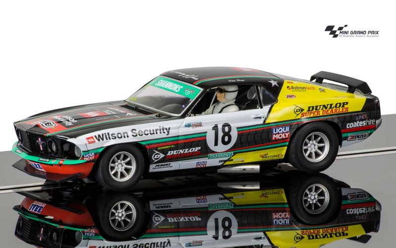 Scalextric 1:32 Ford Mustang Boss 302 1969 TransAm HD C3728