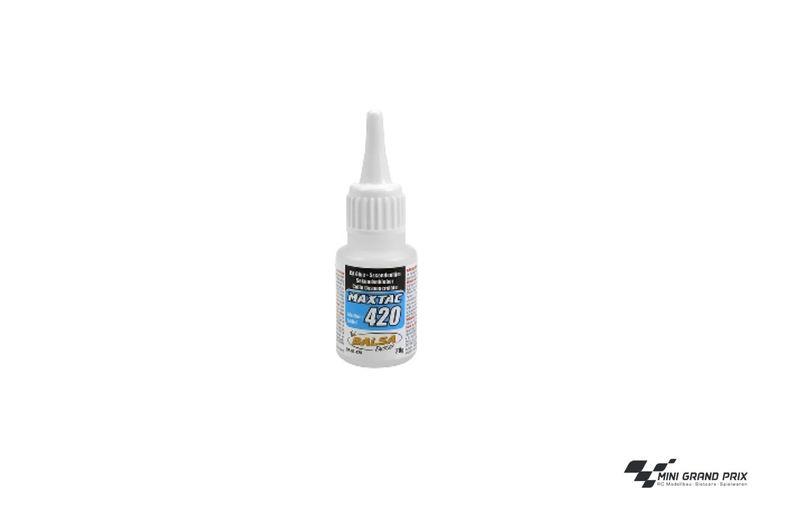 MaxTac 420 Sekundenkleber 20g, medium (EUR 14,75/100 g) BF-01-420