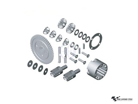 Thunder Tiger Differential Set S3 PD1800