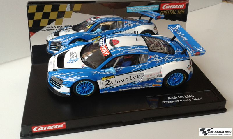 "Carrera Digital 124 Audi R8 LMS ""Fitzgerald Racing, No.2A"" 23840 – Bild 1"