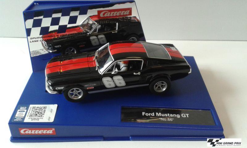 "Carrera Digital 132 Ford Mustang GT ""No.66"" 30792"