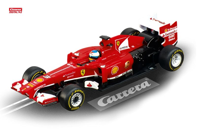 "Carrera Digital 143 FERRARI F138 ""F.ALONSO, NO.3"" 41376"
