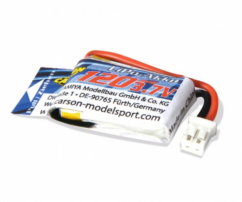 Carson Micro Bike Battery 3,7V/120mAh LiPo-Akku 500608188