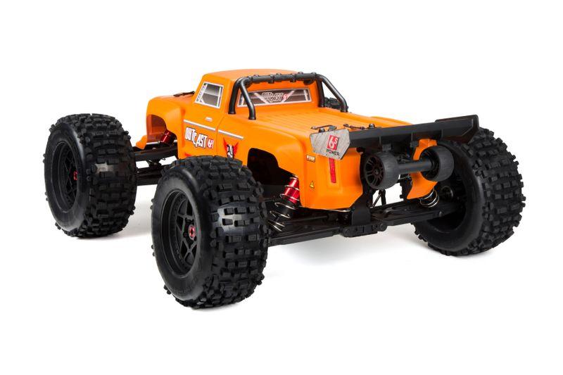 ARRMA OUTCAST Orange 6S BLX 4WD Stunt Truck 1:8 RTR AR106027 – Bild 2