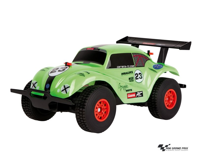Carrera RC VW Beetle, green 1:18 370184003 – Bild 1