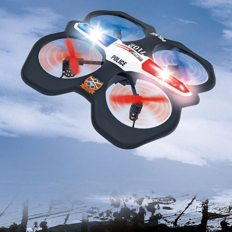Carrera RC Quadrocopter Police 370503014  – Bild 1
