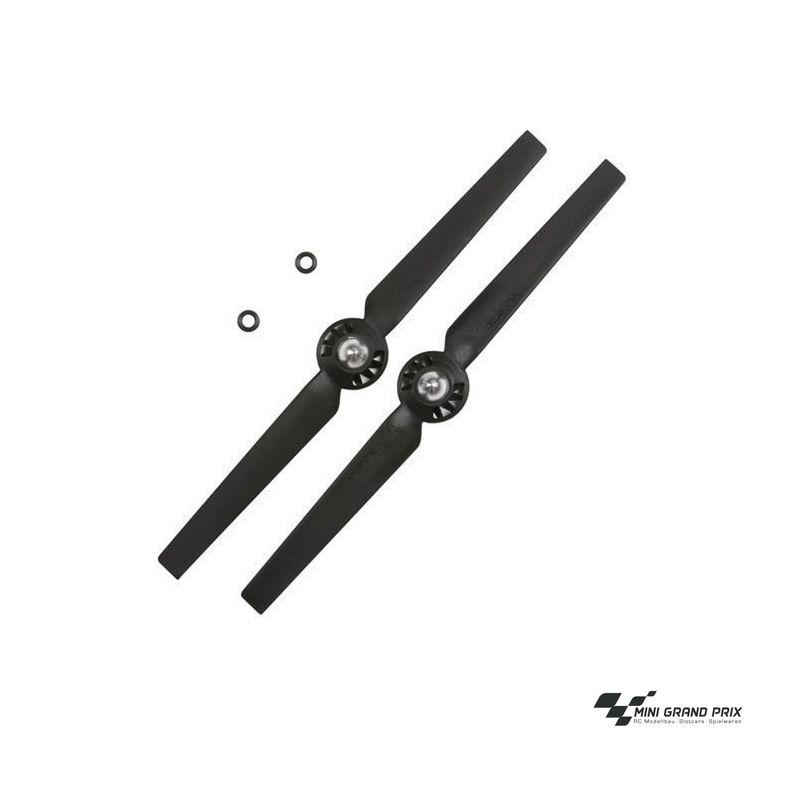 Yuneec Q500 4K Propeller, rechtsdrehend, schwarz (A) 2 Stück YUNQ4K115A