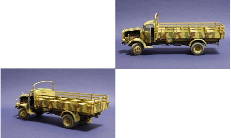 Zvezda 1:35 WWII Dt.Transport-LKW L4500A 3596 – Bild 2