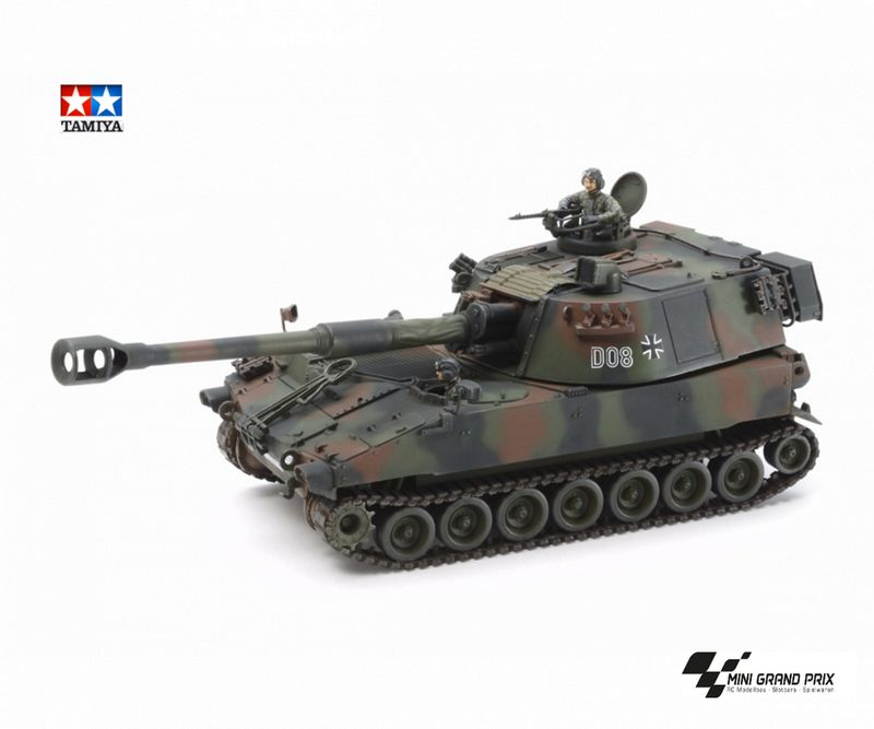 Tamiya 1:35 Bundeswehr M109A3G Haubitze 37022 Bausatz